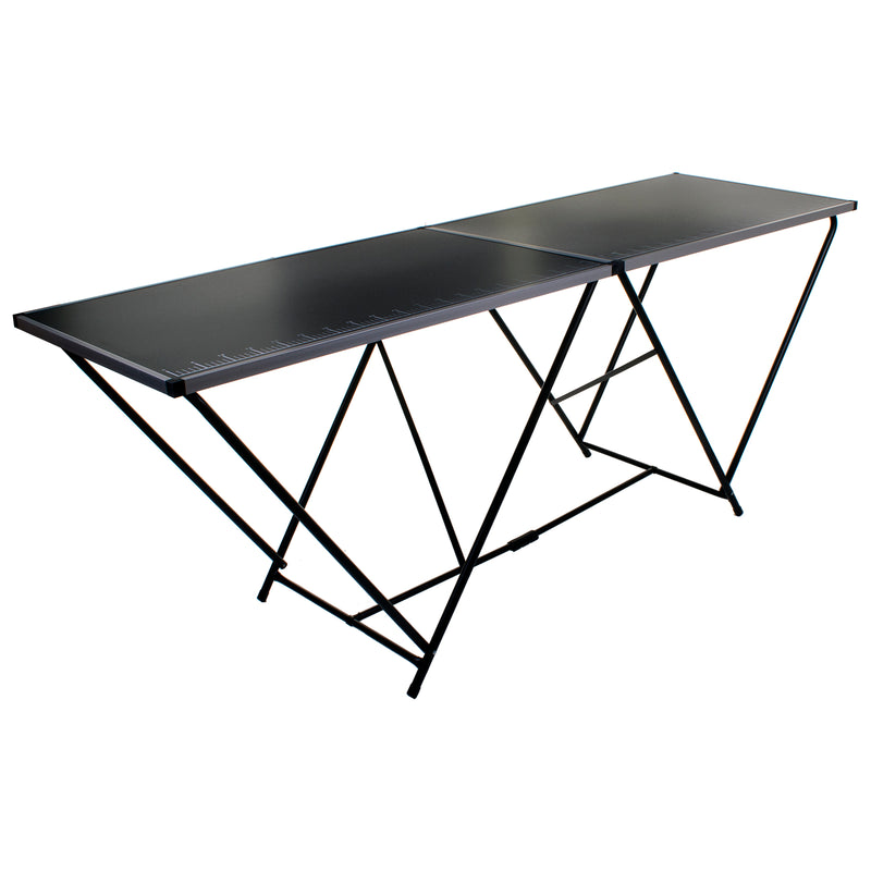 2M Folding Steel Table