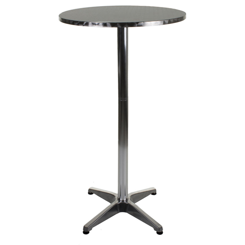 Chrome Bistro High Table