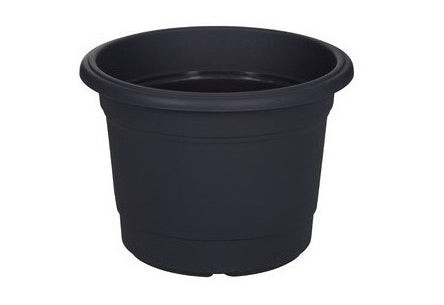 Round Milano Planter Black