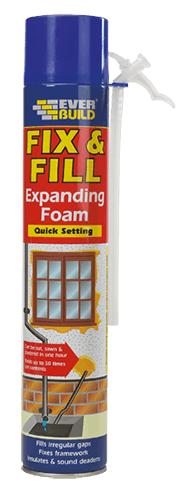 Fix and Fill Expanding Foam