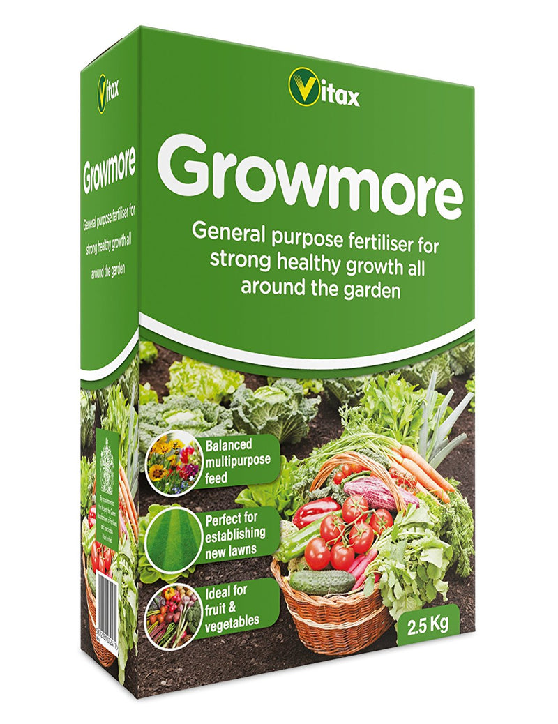 Growmore 2.5kg Box
