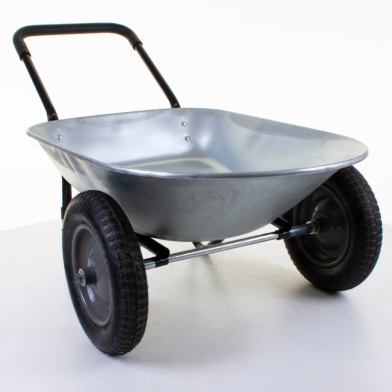 Colorado 2 Wheeled Galvanised Wheelbarrow