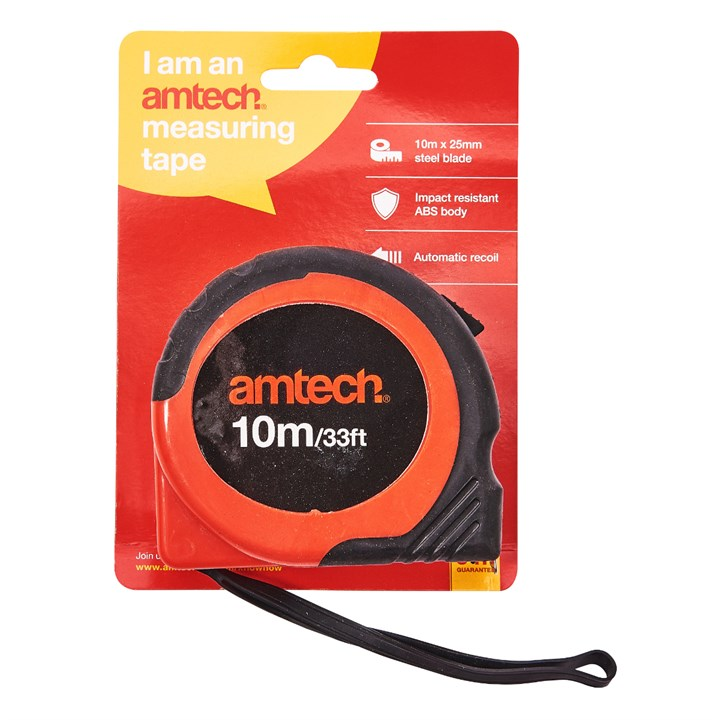 10M X 25mm Measuring Tape