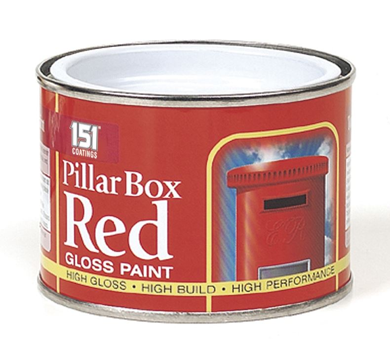 Pillar Box Red Gloss Paint 180ml