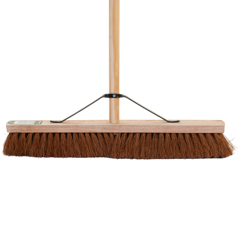 "24"" Soft Coco Broom with Handle"