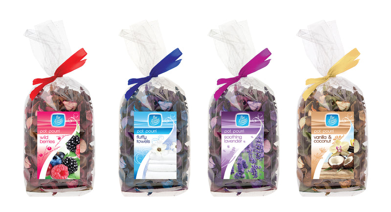 Pot Pourri Assorted Fragrances 4pk