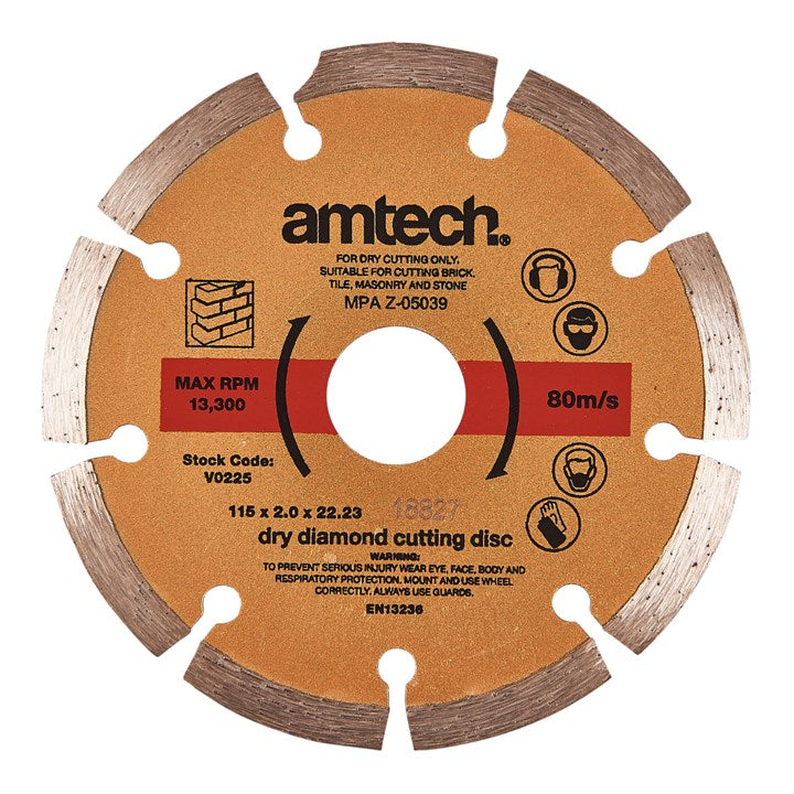 115mm Diamond Cutting Disc