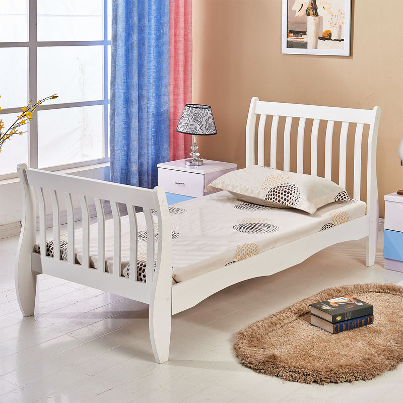 Wooden Sleigh Bed Frames