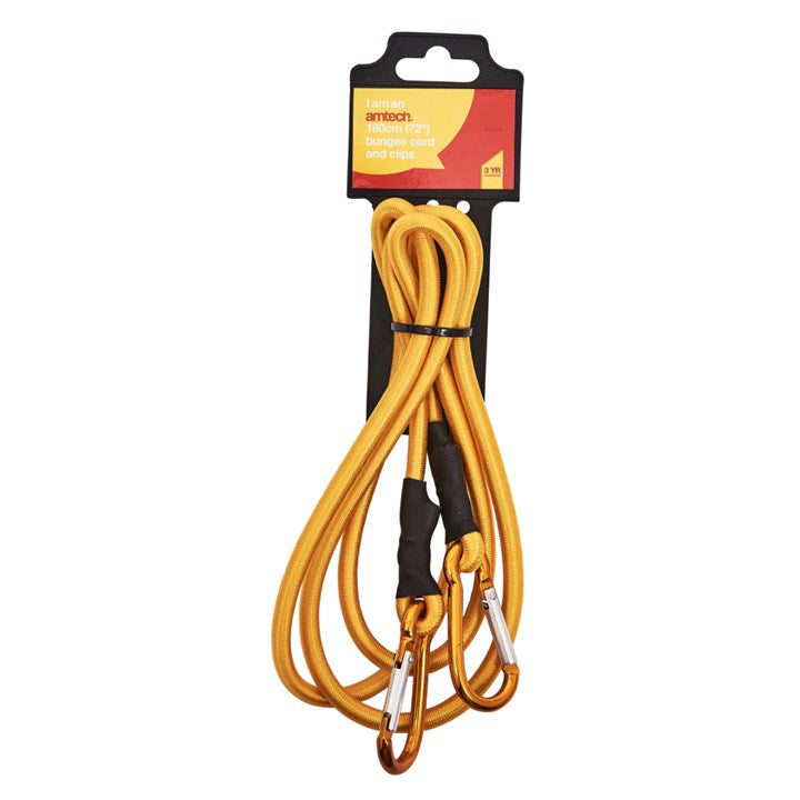 "72"" Bungee Cord & Clips"
