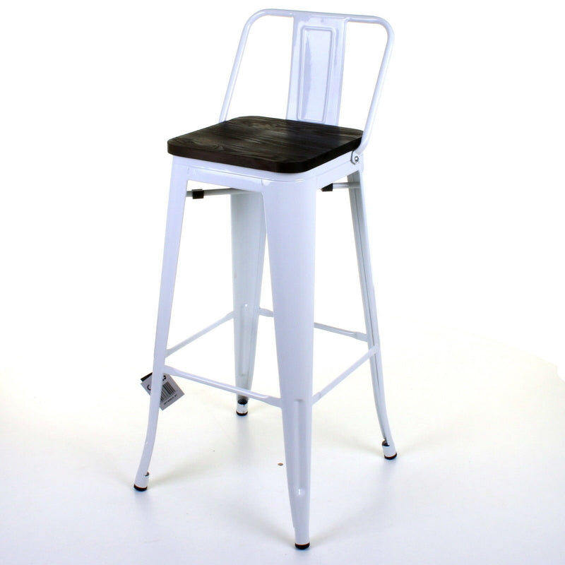 Milan Bar Stool - White