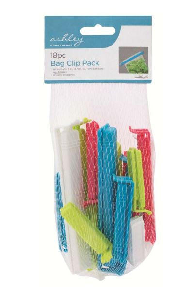 Bag Clip Bag 18pc