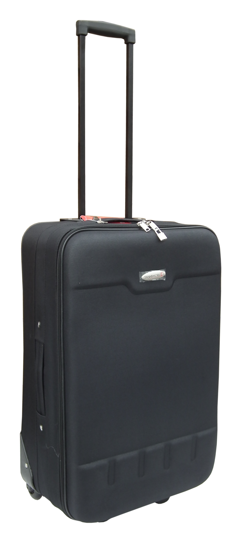 Black Trolley Suitcase - Medium