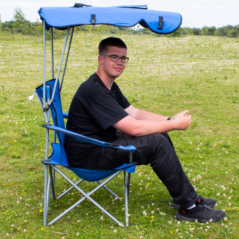Folding Canopy Camping Chair