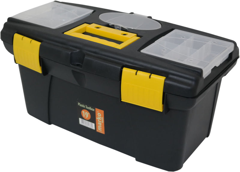 "19"" Plastic Tool Box Large"