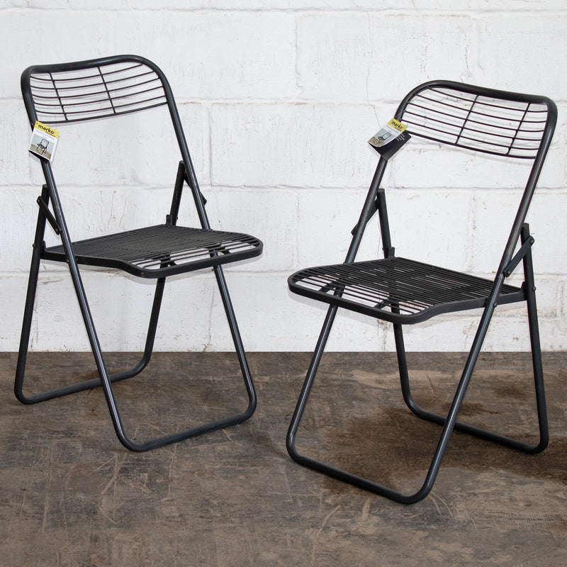Strasbourg Folding Chairs - Set of 2