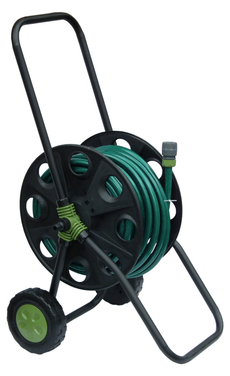 30M Hose Reel Cart Trolley Set