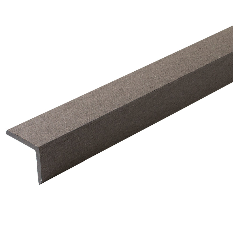 Composite Decking L Cover - Light Grey - 2.9M