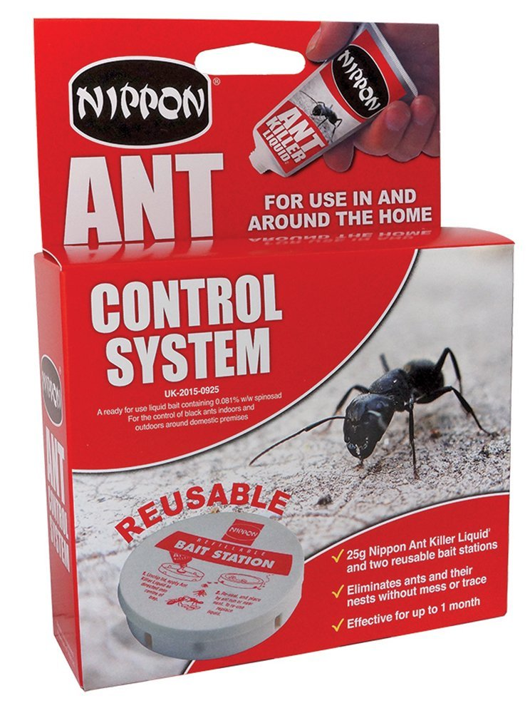 Nippon ant control system - 2 traps + 25g