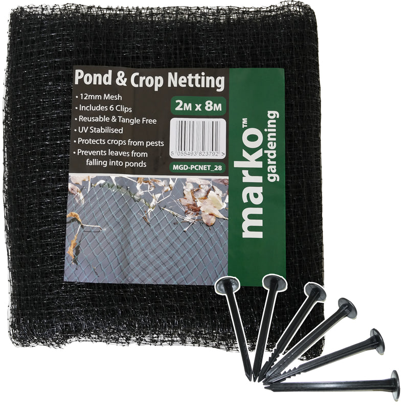 Pond & Crop Netting - 2M x 8M
