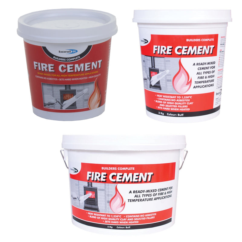 Ready Mixed Fire Cement - Buff