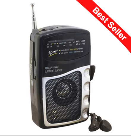 Personal Radio with Earphones