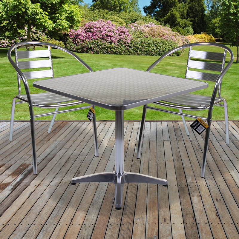 Fajardo Chrome Bistro Sets