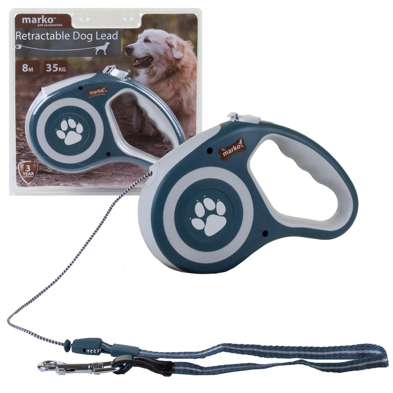 Retractable Dog Lead - Blue
