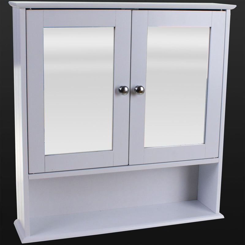 Double Door Cabinet with Shelf