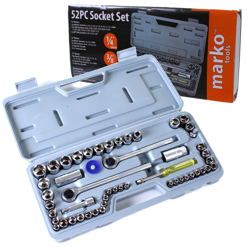 52PC Socket Set
