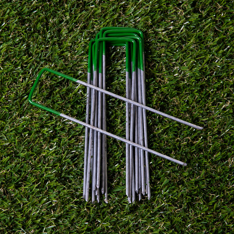 10PK Artificial Grass Pegs