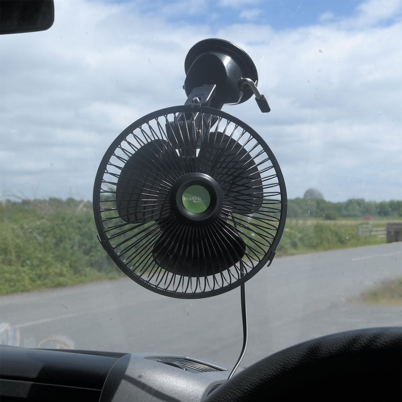12V Oscillating Car Fan