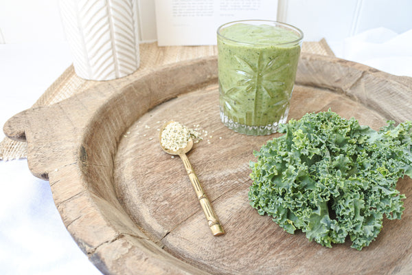 skin loving kale smoothie