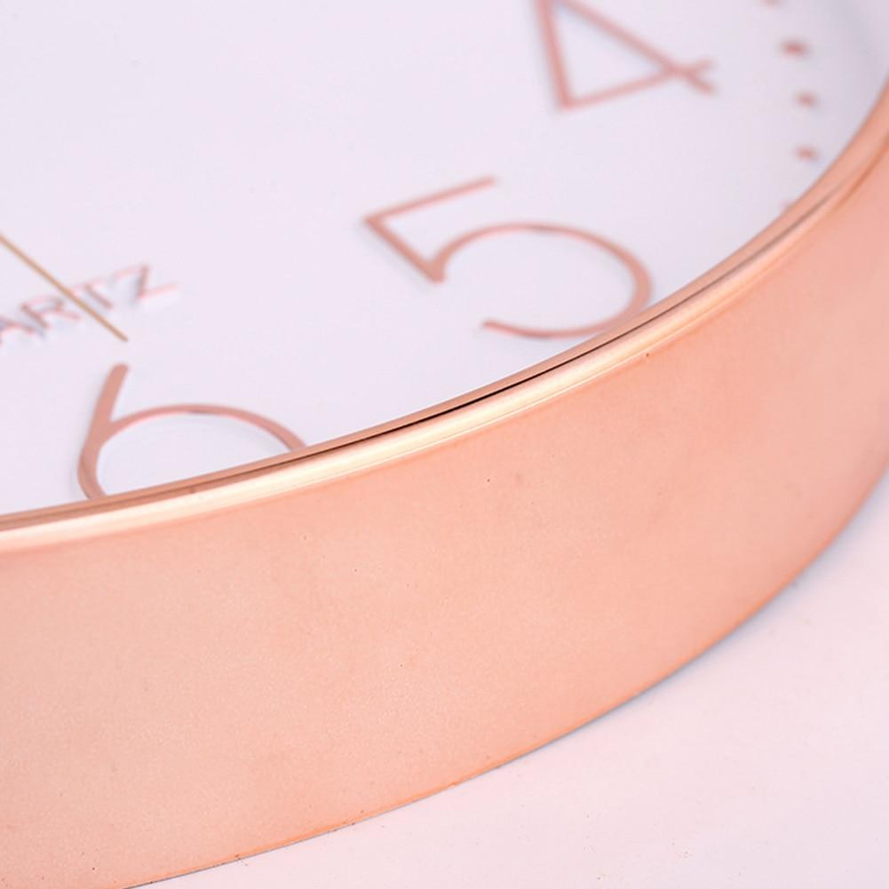 Chic Rosegold Clock