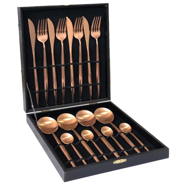 Luxe™ Rose Gold - Silverware Set