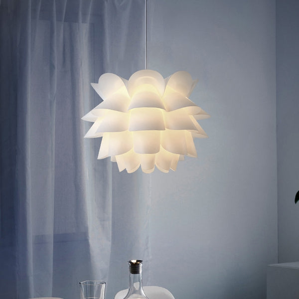 DIY Lotus Flower Lamp Shade