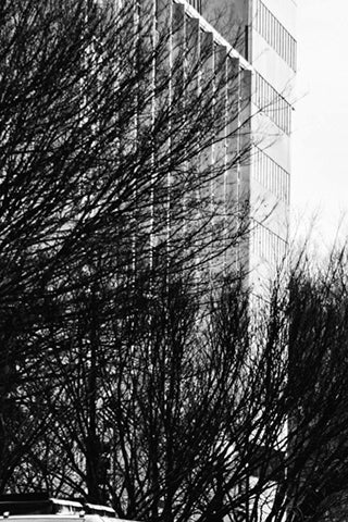 Black & White Canvas - City Spaces Urban Set #1
