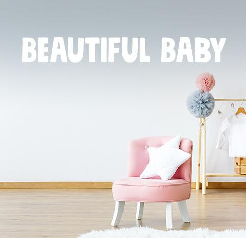 Beautiful Baby: WallScape
