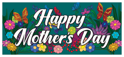 Coloring Banners - Mothers Day