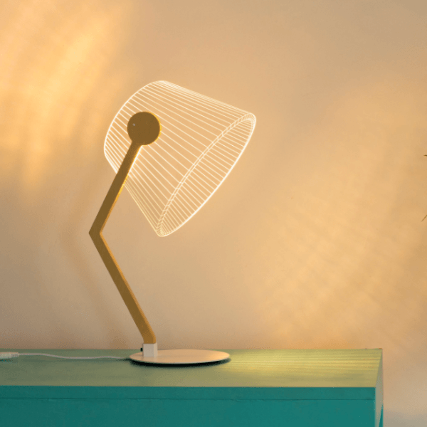 Linien™ - 3D Effect LED Table Lamp