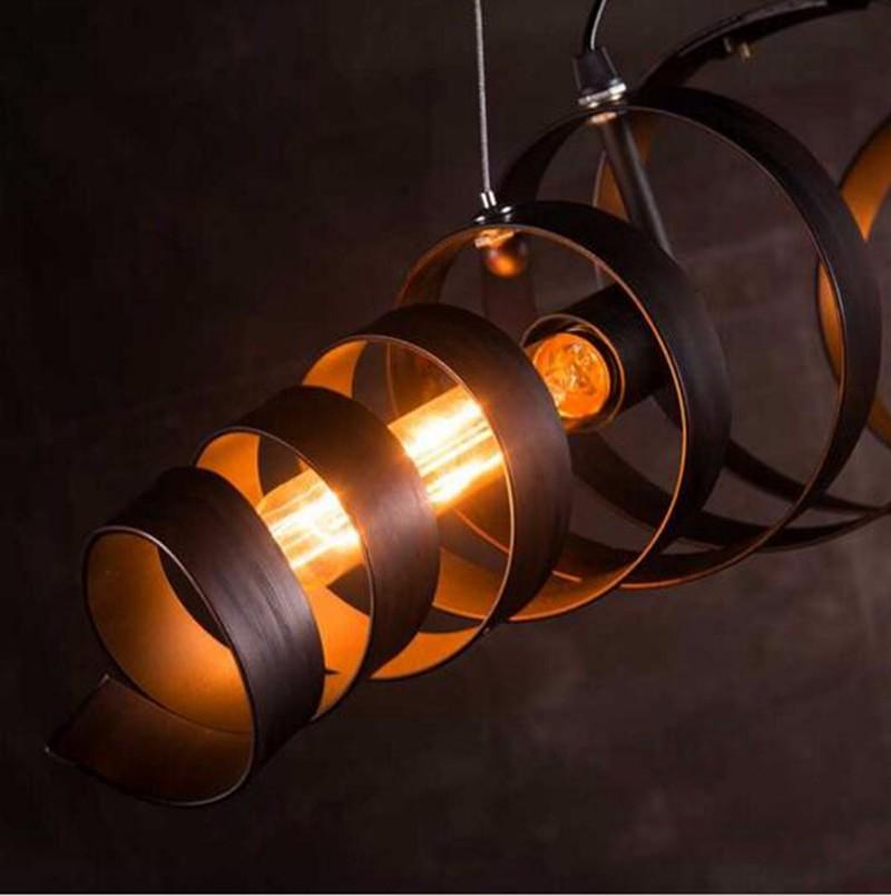 Industrial Barrel Pendant Light