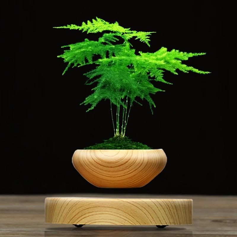 Wooden Floating Flower Pot