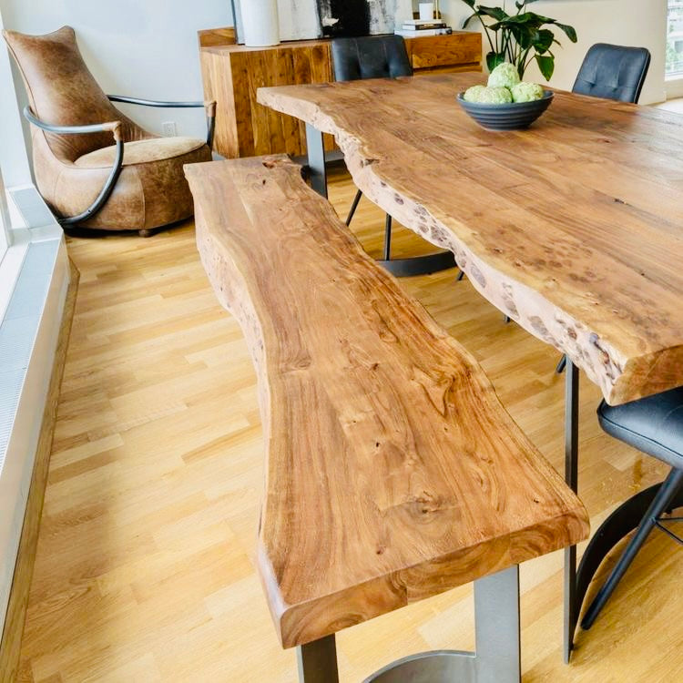 Live Edge Reclaimed Wood Large Table
