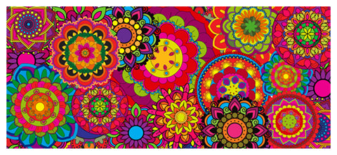 Coloring Banners Mixed - Mandala Madness