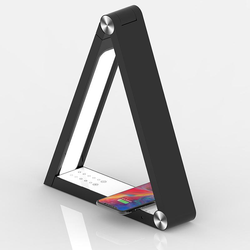 Triangle Wireless Charging Lamp