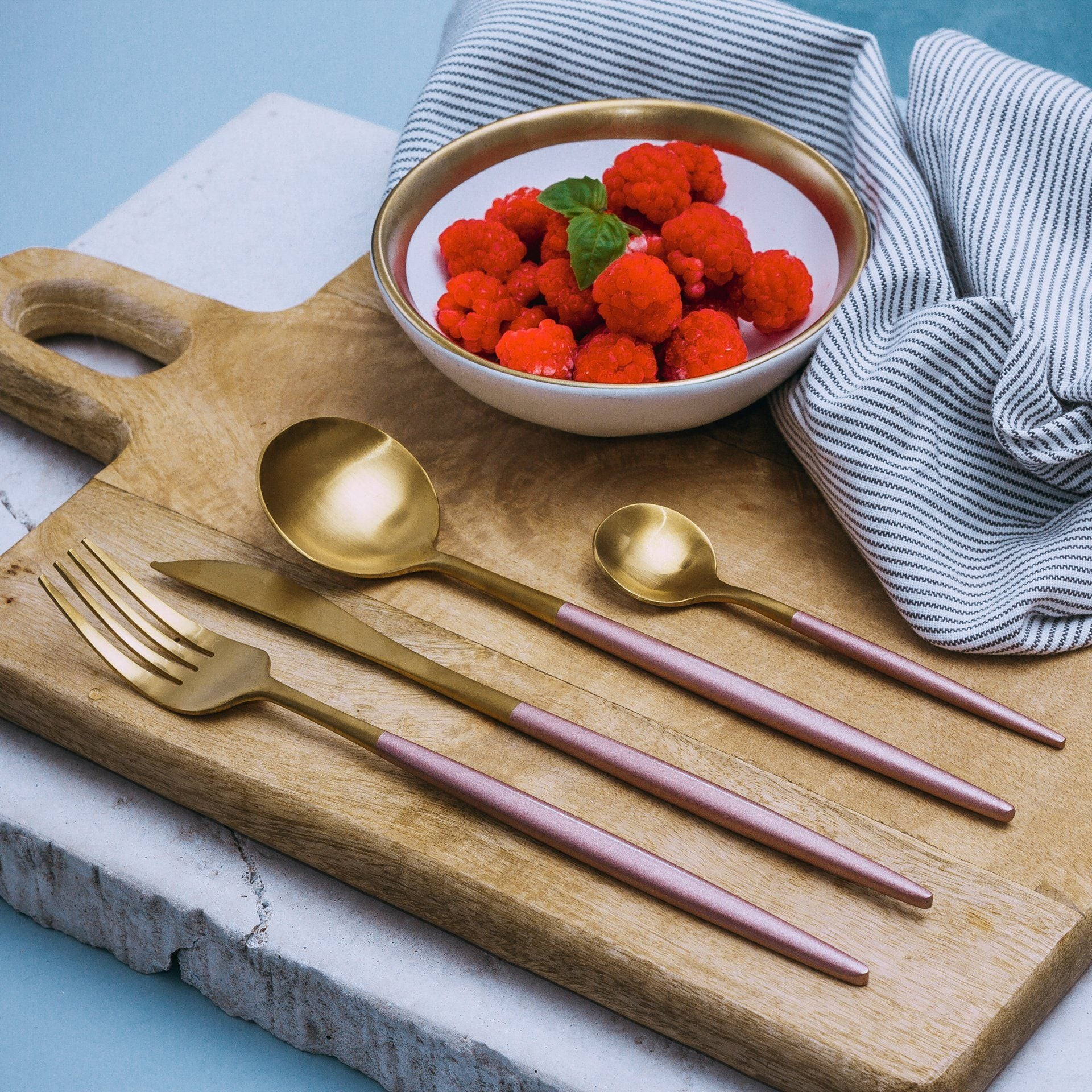 Luxe™ Rose - Silverware Set