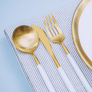 Luxe™ White - Silverware Set