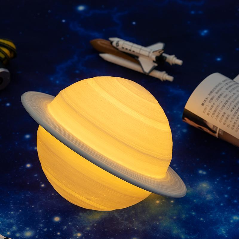 Planet Saturn Table Lamp