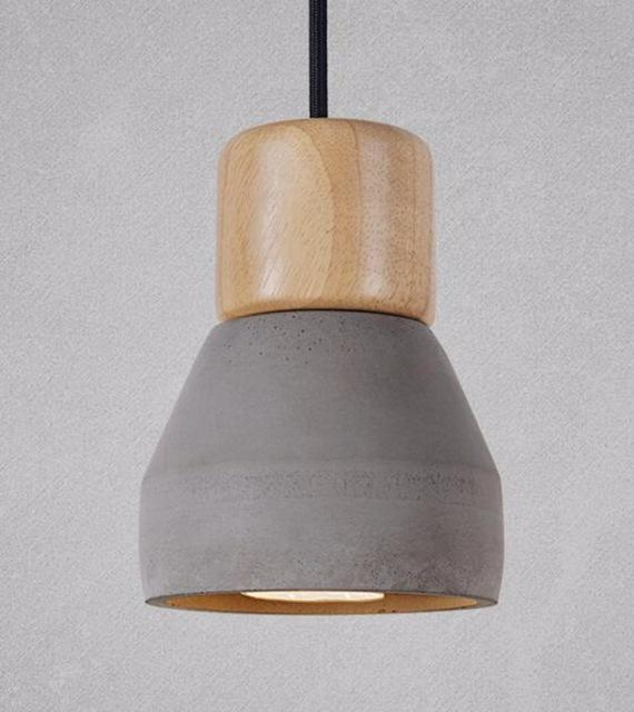 Modern Concrete Pendant Lights