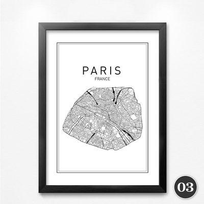 City Map Canvas