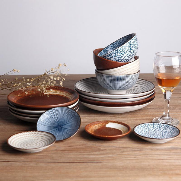 Kokoro™ - Traditional Japanese Dinner Plates & Kokoro™ - Traditional Japanese Dinner Plates - Ivy and WIlde u2013 Ivy ...